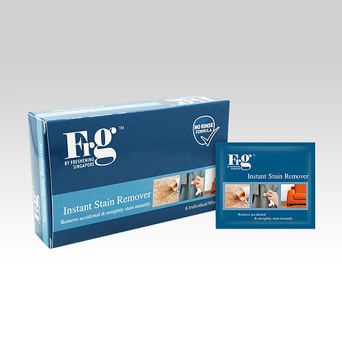 FRG Instant Stain Remover 6s Wipes