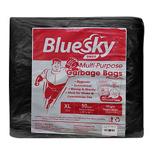 FOCstore Bluesky Garbage Bag-XL Black