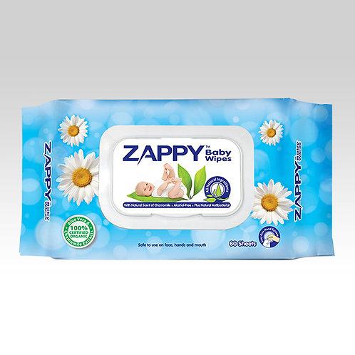 Zappy Baby 80s Wipes