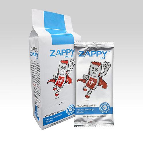 Zappy IPA Alcohol 10s Wipes