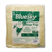 FOCstore Bluesky Garbage Bag L Yellow