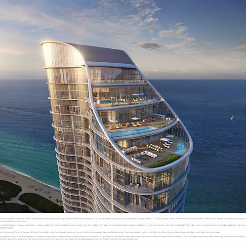 Excelente  INVERSION.  RITZ-CARLTON RESIDENCES  Sunny Isles Beach, MIAMI  ​