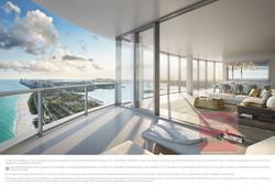 The Ritz-Carlton Residences, Sunny Isles Beach - 19 South Living