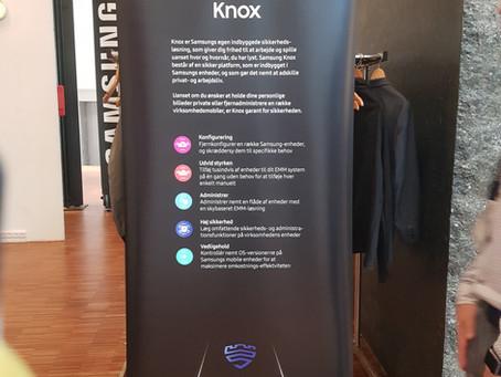 CAVE IT deltager på et spændende event med Samsung