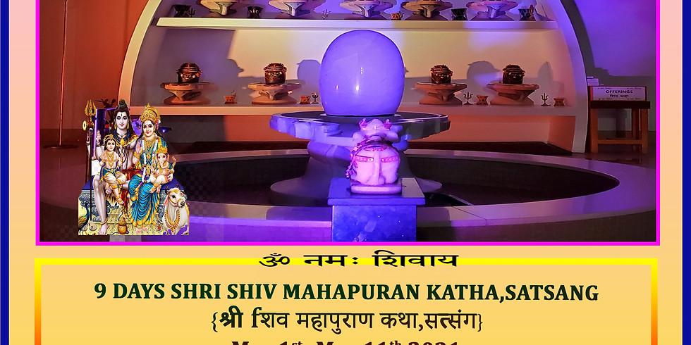 9 days Shiv Mahapuran Katha and Satsang