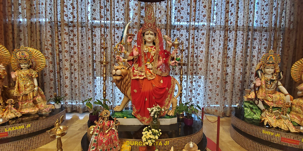 Durga Ashtami  Havan + Chauki