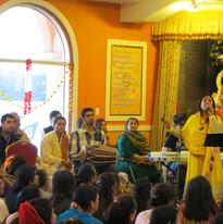 Jasprit Naurla Perfomring Live Chauki.