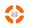 100x99 target white outer orange inner.p