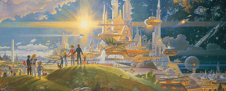 Utopian City Art