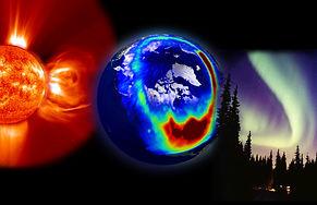 Planet Earth Space Sun