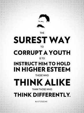 Nietzsche Corruption of Youth Quote