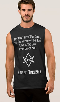 Occult Law of Thelema T Shirt