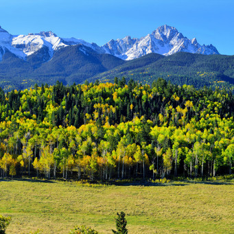 Wide Mountain Range