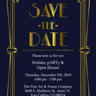 Special Event!: Holiday pARTy & Open House