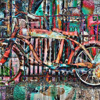 Vintage Bike – Red