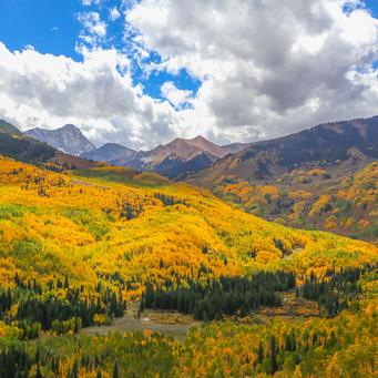 Autumn Mountain Range