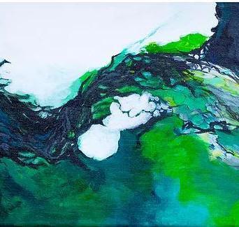 Adham's Green Bird