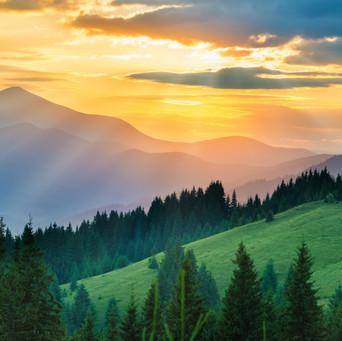 Sunset Mountain Hills