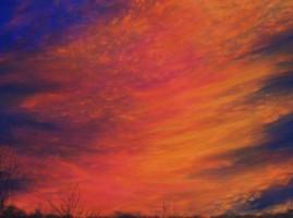 Eastern Sky at Dusk