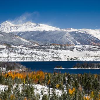 Snowy Mountain Range