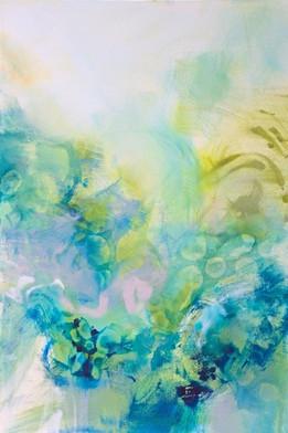 Turquoise Flow I