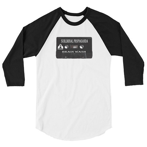 Subliminal Propaganda 3/4 sleeve shirt