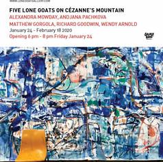 five long goats