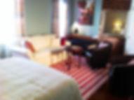 Gîte Au Boisjoli : chambre 3 « Côté jardin »