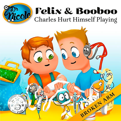 Broken Arm, Felix & Booboo