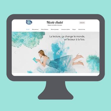 Site web de Nicole Audet
