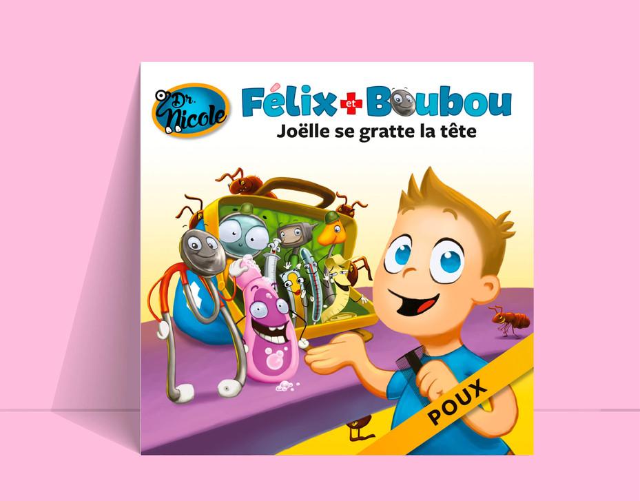 Un titre de la collection Félix et Boubou