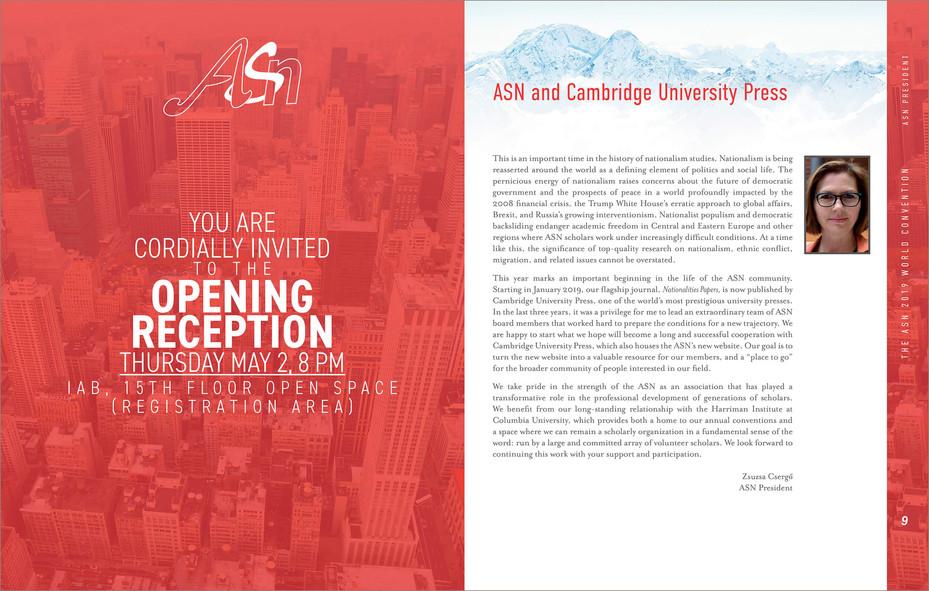 Programme du congrès d'ASN 2019