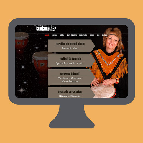 Site Web de Tamtaméther