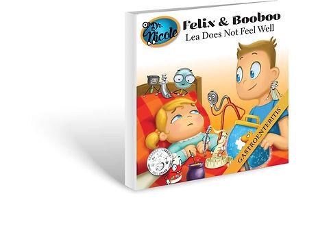 Gastroenteritis,  Félix et Boubou, Éditions Dre. Nicole