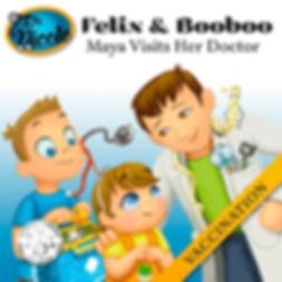 Vaccination, Felix & Booboo, Dr. Nicole Publishing