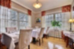 Gîte au Boisjoli - salle à manger