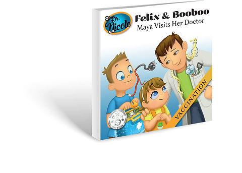 Vaccination,  Félix et Boubou, Éditions Dre. Nicole