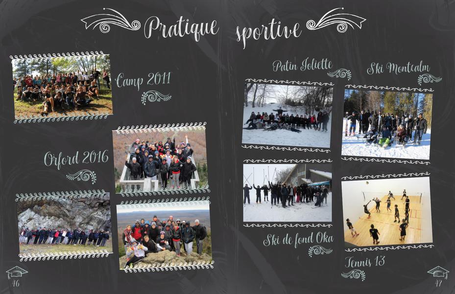 Album des finissants 2015-2016 de l'école Leblanc