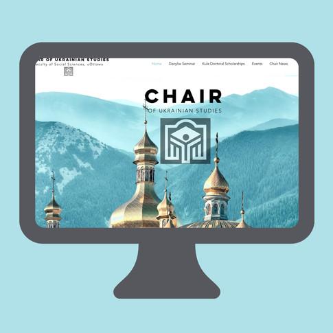 Site web de la Chaire ukrainienne, université d'Ottawa