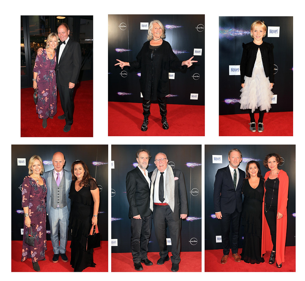 From top: 1. Lizzie Pickering, John Lloyd 2. Karin Bertling 3 Lioba de Graaff 4.Lizzie, Philip Selway, Polly Steele 5. Angus Deayton, Richard Wilson 6. Dougie Henshall, Polly Steele, Tena Stivicic. (Photos: Stephen Daniels)