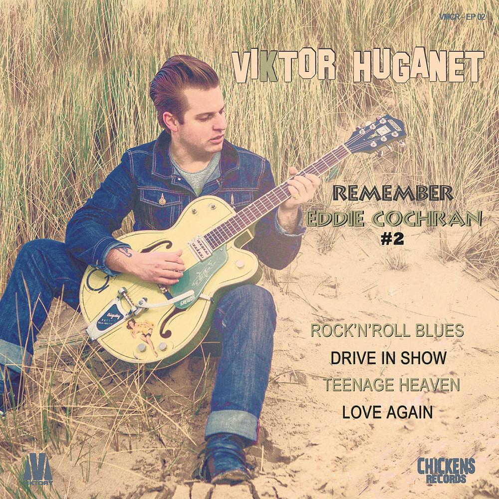 "En ecoute ""Remember Eddie Cochran #2"", le nouvel ep de viktor huganet | Viktor Huganet | News"