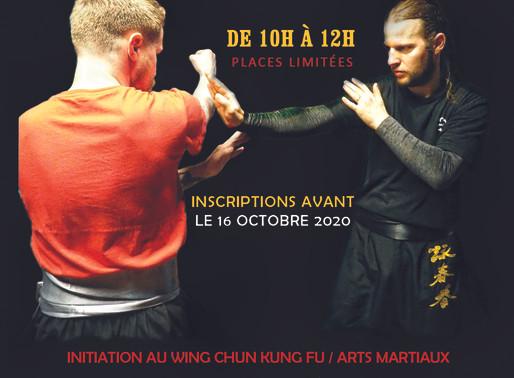 Stage de Wing Chun  17/10/2020