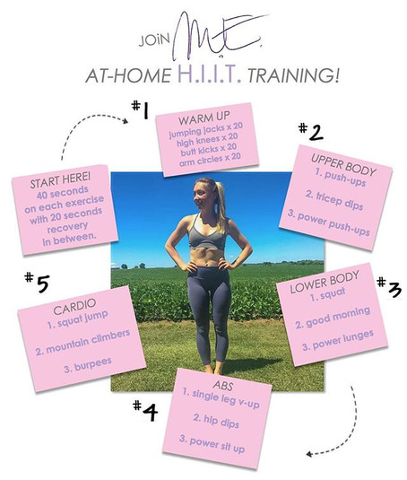 At-Home HIIT Routine