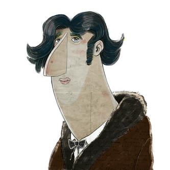 """""""Oscar Wilde""""  (digital)"""