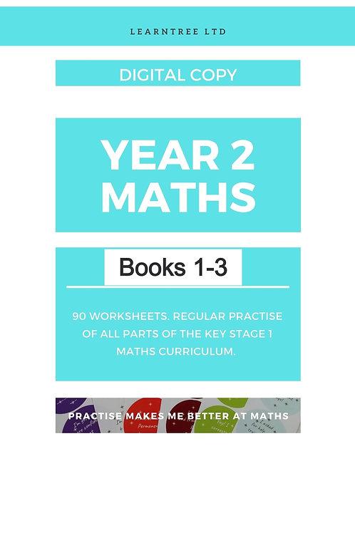 Book 1-3 Year 2 Maths (Digital copy)