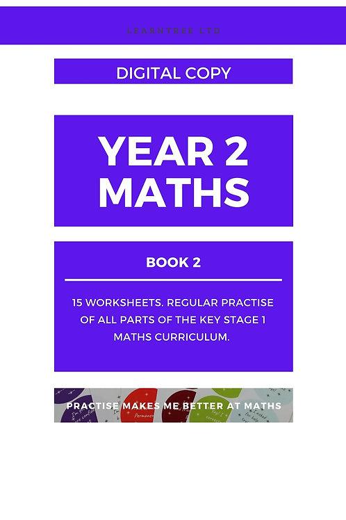 Book 2 - Year 2 Maths (Digital Copy)
