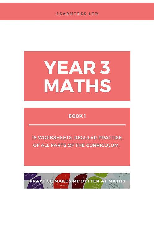 Book 1 - Year 3 Maths (Digital copy)