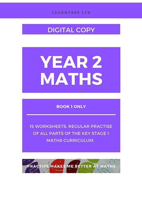 Book 1 - Year 2 Maths (Digital copy)