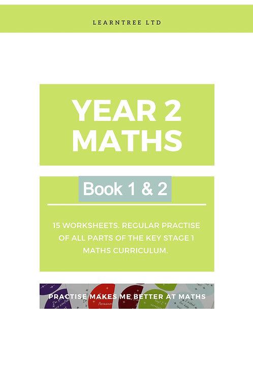 Book 1&2 - Year 2 Maths (Digital Copy)