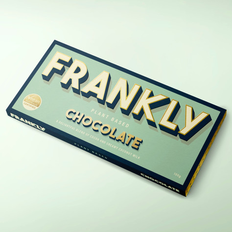 FRANKLY PLANT BASED CHOCOLATE